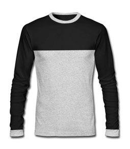 Round Neck Black T-Shirt
